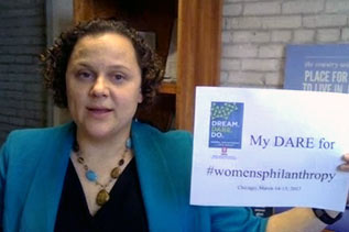 DREAM. DARE. DO. Women's Philanthropy Institute Symposium: Trista Harris